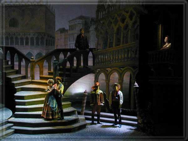 A Tale of Cinderella set design by Richard Finkelstein