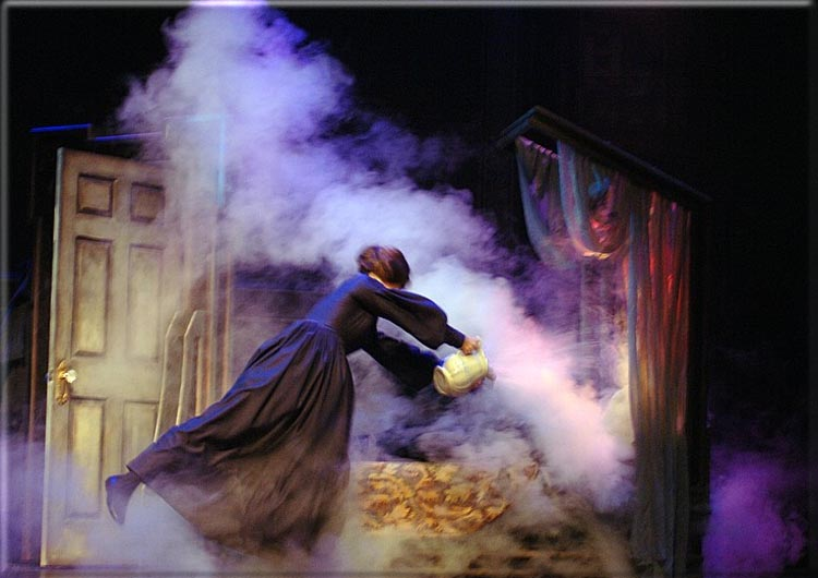 Jane Eyre by  Charlotte Bronte adapted by Richard Rose at Barter Theatre. Scenery design is by Richard Finkelstein