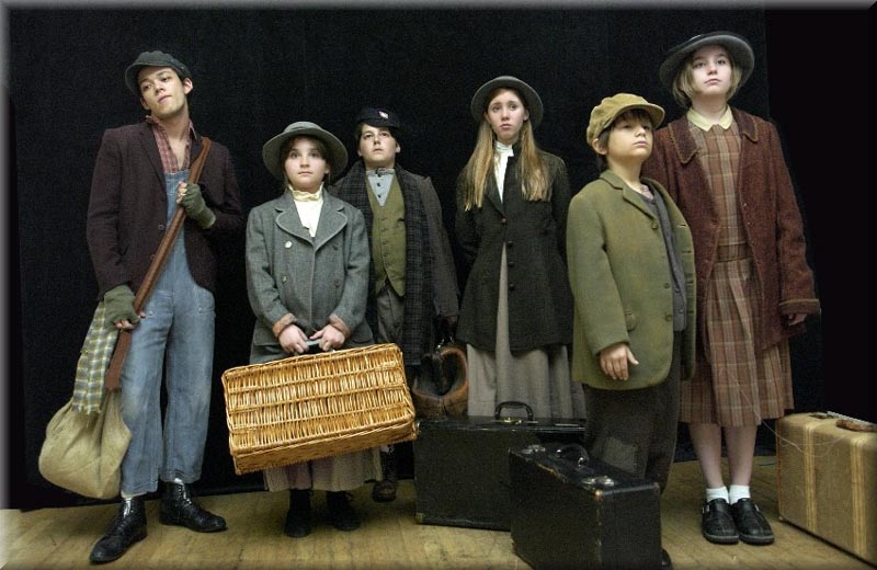 Orphan Train Directed by Pat Birch with Set Design by Richard Finkelstein