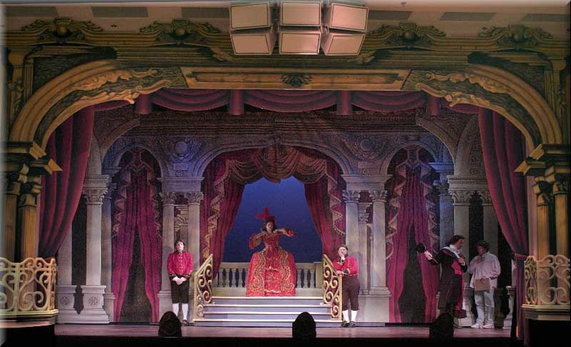 Scarlet Pimpernel Stage Design