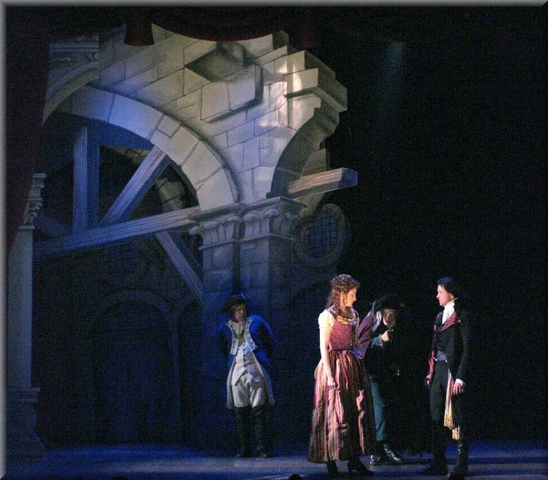 Scarlet Pimpernel - Set Designed by R. Finkelstein