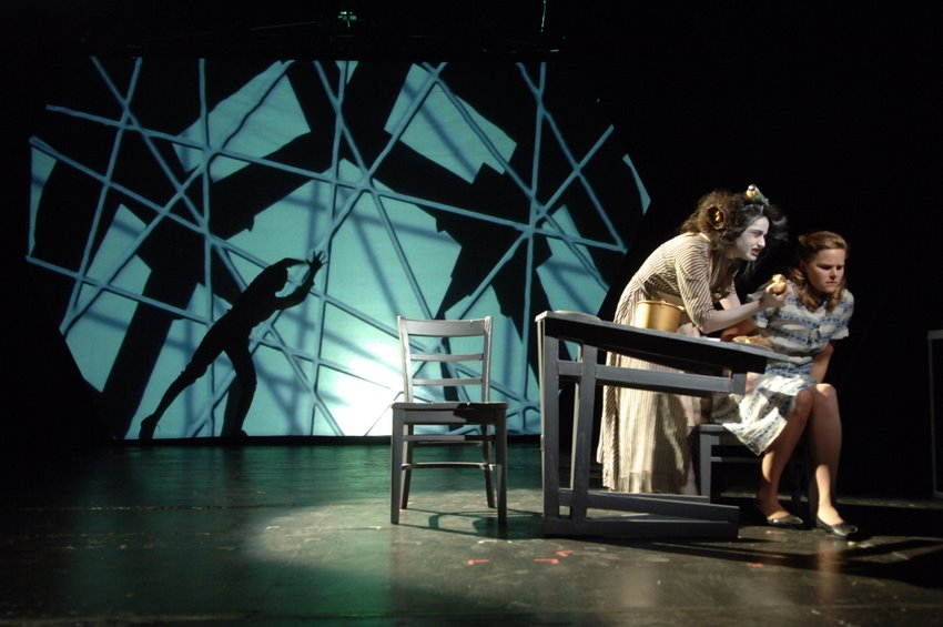 Machinal Set Design by Richard Finkelstein - Written by Sophie Treadwell, presented at Perry-Mansfield